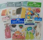 Jolees BOUTIQUE 3 D Stickers Scrapbook SUMMER VACATIONS CHEF PICNIC BEACH POOL