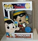 Funko Pop! Disney #617 PINOCCHIO - Exclusive in hand w Protector.