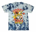 Looney Tunes Bugs Bunny Daffy Duck Sylvester Tie Dye Graphic Tee Mens T Shirt