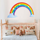 Rainbow Mural Room Decoration Stickers Kids House Wall Sticker Christmas Deco ES