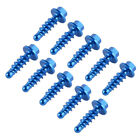 10PCS CNC Tapping Screws Fairing Bolts Kit Set For Husqvarna 85cc-501cc 2014-18
