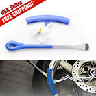 2PCS Tire Lever Tool Spoon Motorcycle Tire Iron Changing Wheel Rim Protector Kit