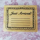 Anitas Rubber Stamp Just Arrived Wood Mount 35x45 Announcement