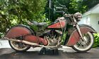 1948 Indian Chief Motorcycle 1 6 16 Scale One of Kind Custom ART piece