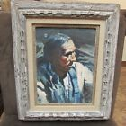 Original Painting By Jack King Native American Portrait