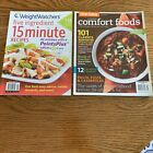Clean Eating Magazine Classic Comfort Foods 2012  Weight Watchers 2011 Maga