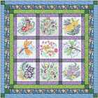 Quilt Kit Hello Spring w Finished Blocks Precut Ready to Sew