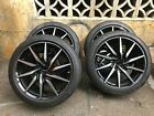 Aston Martin DB11 Vantage 20 wheels and tires Black DT USED take off set