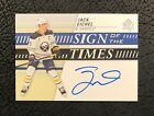 Jack Eichel Signs Exclusive Autograph Card Deal with Leaf 5
