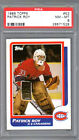 1986-87 TOPPS, PATRICK ROY, PSA 8, MONTREAL CANADIENS