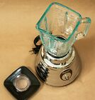 Osterizer Classic Blender fine shape functioning normally heavy chrome+glass