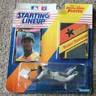 Rickey Henderson Starting Lineup Oakland A's Original Package MIP MOC W/ Poster