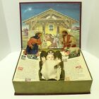 Vtg 1958 Ideal The Most Wonderful Story Pop Up Nativity Baby Jesus Refurbished