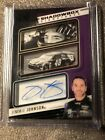 jimmie johnson autograph cards Pinini Prime Shadowbox 7
