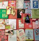 Nice Lot Hallmark Christmas Cards 74 Cards Value 350 Store Closeout