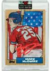 Topps Project 2020 Mark McGwire Blake Jamieson Red Signed Autograph 149 Presale