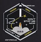 ROCKET LAB 12 ELECTRON MAHIA NASA USAF NRO UNSW SATELLITE Mission SPACE PATCH