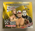 2016 Topps WWE Wrestling Then Now Forever Factory Sealed Hobby Box