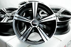 14 Wheels Rims Black Single Drill 4x100 Golf Jetta Passat Honda Accord Civic