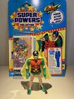 1985 Super Powers Robin 100 Complete With Original Cape  Card Nice