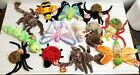13x Beanie Babies Lot Bugs Insects Spinner Stinger Hairy Buzzie Lucky Squirmy