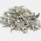 80PC Bulk Lots Bird Charms DIY Jewelry Mixed Tibetan Silver Alloy Charms Pendant