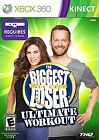 The Biggest Loser Ultimate Workout Xbox 360 Kids Kinect Game Women men Exercise