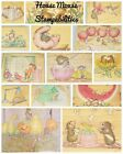 House Mouse Stamp By Stampabilities Choose From Designs Wood Mounted Scrapbook