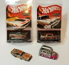 Hot Wheels Collector Edition ZAMAC Mail In Promotion Lot Of 4 Free Shipping LK