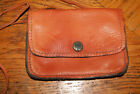 Le Sllier Made in France Mini Wallet Purse Brown Leather Georges Grech Designer