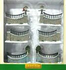 Lemax 2006 Christmas Village Stone Wall Set of 6 #63576 New