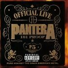 Pantera Official Live:101 Proof CD NEW