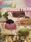 Vintage Donvier Ice Cream Maker 2 Pint Hand Operated In Box