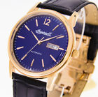Ingersoll 1892 Herrenuhr The New Haven I00504 Farbe rosegold Lederband Holzbox