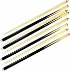 BEST Set of 4 Pool Cues 58 Billiard House Bar Cue Sticks 2 Piece Pool Cue NEW