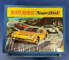 Vintage Official Matchbox Superfast Deluxe Collectors Case 72 Car and Catalog