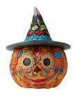 Jim Shore*DAY of the DEAD PUMPIKIN*New 2020*NIB*Halloween*BUY MORE-SAVE*6006703