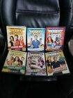 Lot of 6 Biggest Loser The Workout Exercise DVD Movie yoga cardio power sculpt