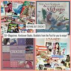 Crochet Patterns Books Lot Magazines Holiday and Christmas Patterns Projects 50+