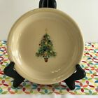 Fiestaware Christmas Tree Appetizer Plate Fiesta Small Ivory Holiday Plate