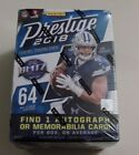 2018 PANINI PRESTIGE FOOTBALL BLASTER BOX 8 PACKS 64 CARDS - FACTORY SEALED