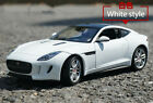 Welly 124 Diecast Alloy Car Model Collection Men white For JAGUAR F Type Coupe