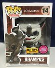 Funko Pop Holidays RARE Krampus 14 Hot Topic Exclusive! Flocked Chase Limited