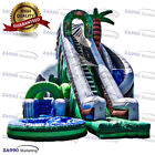 26x20ft Commercial Inflatable Jungle Water Slide  Pool With Air Blower