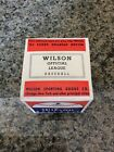Vintage WILSON OFFICIAL MAJOR LEAGUE BASEBALL A1034 SEALED NEW IN BOX
