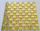 New Luxury Gold Colour Glass Mosaic Wall Tiles