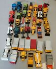 Lot of 41 Matchbox Only Loose Used Old Matchbox Diecast Tractors Trucks etc