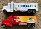 Pez Retired Food Lion and Movie Gallery Advertising Haulers - Both Mint