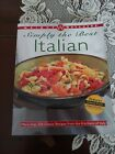 Vintage Weight Watchers Cookbook Simply The Best Italian