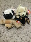 TY Beanie Baby Lot Puppies Dogs